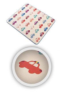 Kinderteppich-Krabbeldecke-Spieldecke-Babydecke-Playmat-CARS